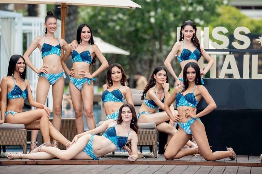 Thí sinh Miss Universe Thái Lan 2020 nóng bỏng với bikini