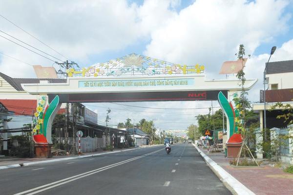 Cù Lao Dung phấn đất đạt chuẩn huyện nông thôn mới vào năm 2025