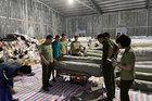 84 tấn vải không rõ nguồn gốc trong kho hàng ở Hưng Yên
