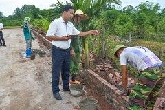 Xã Quảng Tân xây dựng nông thôn mới kiểu mẫu