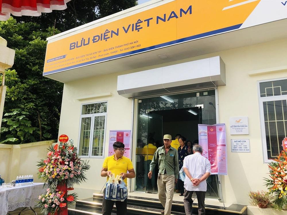 Bưu điện - văn hóa xã sẽ kết nối liên thông triển khai dịch vụ công mức 3, 4