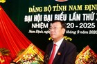 Ông Đoàn Hồng Phong tái đắc cử Bí thư Tỉnh ủy Nam Định