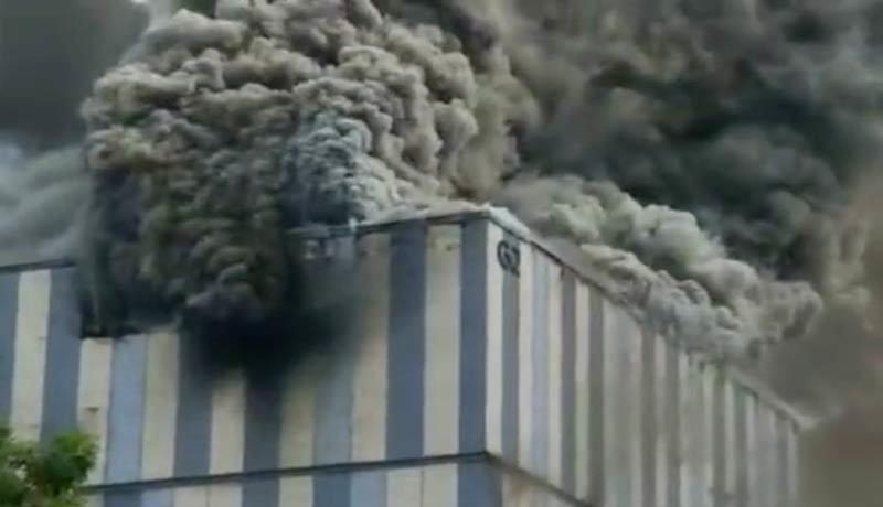 Cơ sở nghiên cứu 5G của Huawei bốc cháy ngùn ngụt