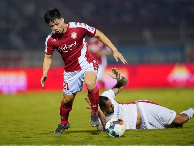 Vòng 12 V-League: Gọi tên Công Phượng, Quang Hải