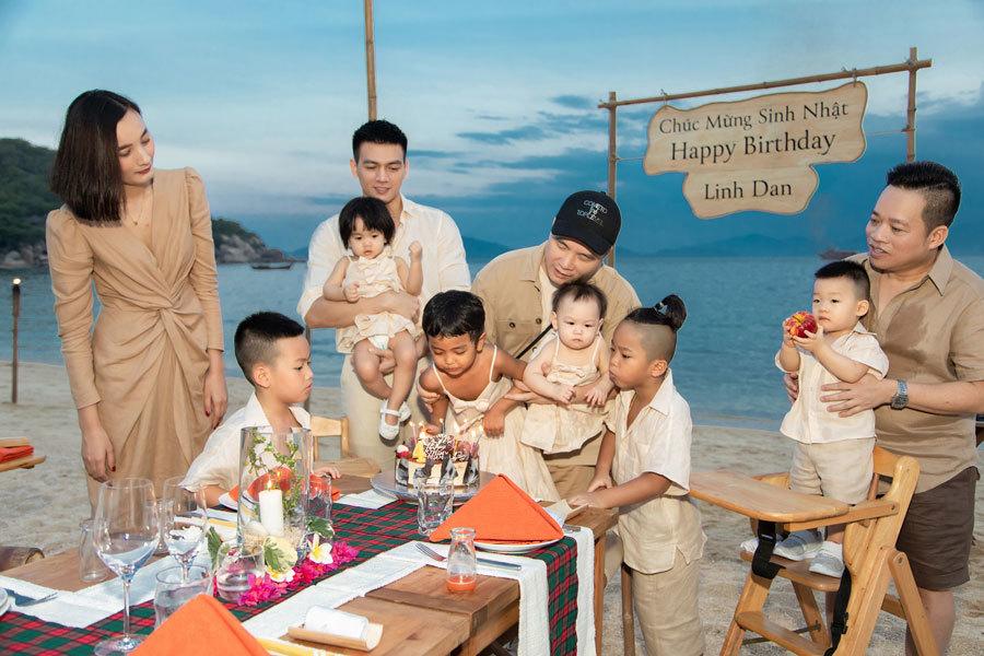 Đỗ Mạnh Cường tổ chức tiệc sinh nhật cho con gái nuôi
