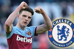 Chelsea ký 5 năm Declan Rice, Aouar gia nhập Arsenal