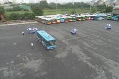 Tài xế xe buýt 'tranh tài'