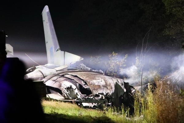 Duy nhất một người sống sót trong vụ máy bay Ukraina gặp nạn