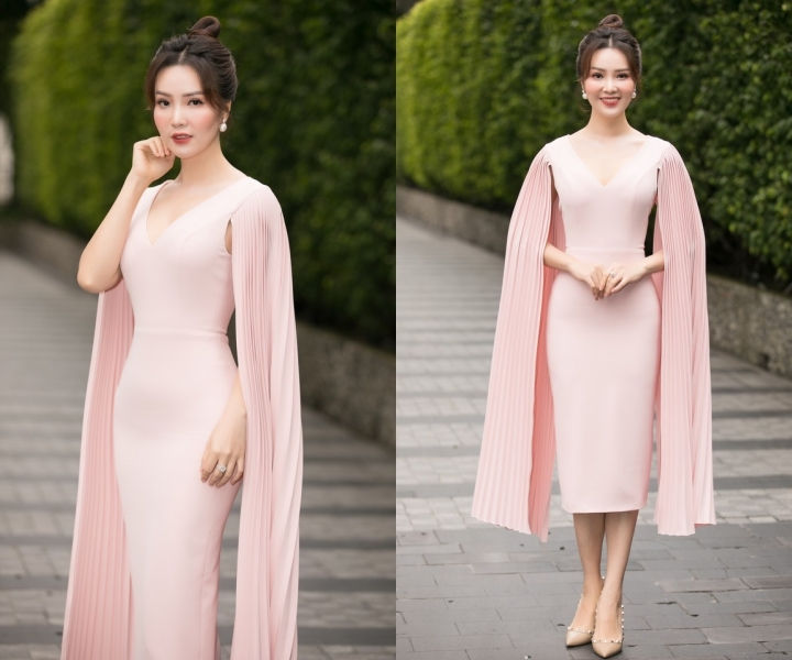 Sao đẹp tuần qua: Thuỵ Vân tôn đường cong, Lương Thuỳ Linh yêu kiều với váy bồng xoè