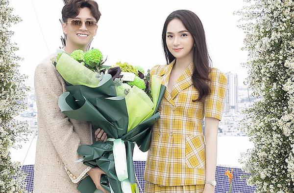Hương Giang cùng dàn sao đến ủng hộ Ngô Kiến Huy ra MV