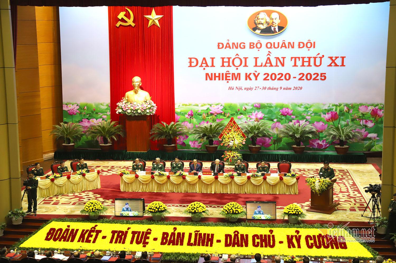 Tổng Bí thư, Chủ tịch nước dự Đại hội đại biểu Đảng bộ Quân đội