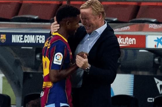 Barca gấp rút gia hạn Fati, điều khoản phá vỡ 400 triệu euro