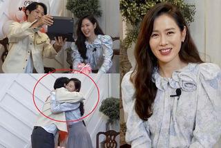 Vắng Hyun Bin, Son Ye Jin ôm bạn diễn khác trong buổi Fan Meeting