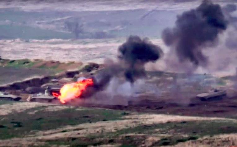 Azerbaijan, Armenia giao tranh dữ dội, điều nhiều vũ khí hạng nặng