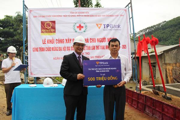 TPBank chung tay xây nhà tình nghĩa cho người nghèo Khánh Hòa