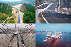 Great traffic works that change the face of Quang Ninh province