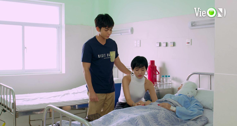 'Gạo nếp gạo tẻ 2' tập 46, Bảo Anh trốn chồng về thăm mẹ nằm viện