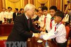 Tổng Bí thư, Chủ tịch nước gửi thư chúc Tết Trung thu cho thiếu niên, nhi đồng