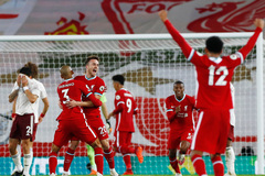 Liverpool xuất sắc ngược dòng đè bẹp Arsenal