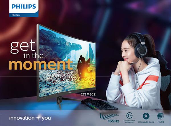 Ấn tượng 2 màn hình gaming vừa ra mắt của Philips