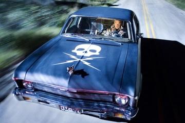 Những chiếc xe ma quái trong loạt phim đình đám