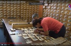 Precious photos of Vietnam preserved in Russia