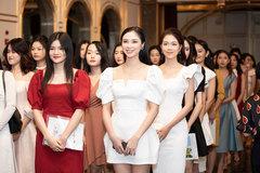 Dàn thí sinh xinh đẹp tại sơ khảo phía Bắc Hoa hậu Việt Nam 2020