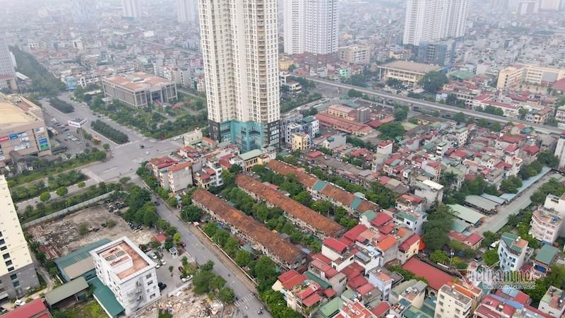 Hà Nội tạm dừng quy hoạch khu chung cư cũ Giảng Võ