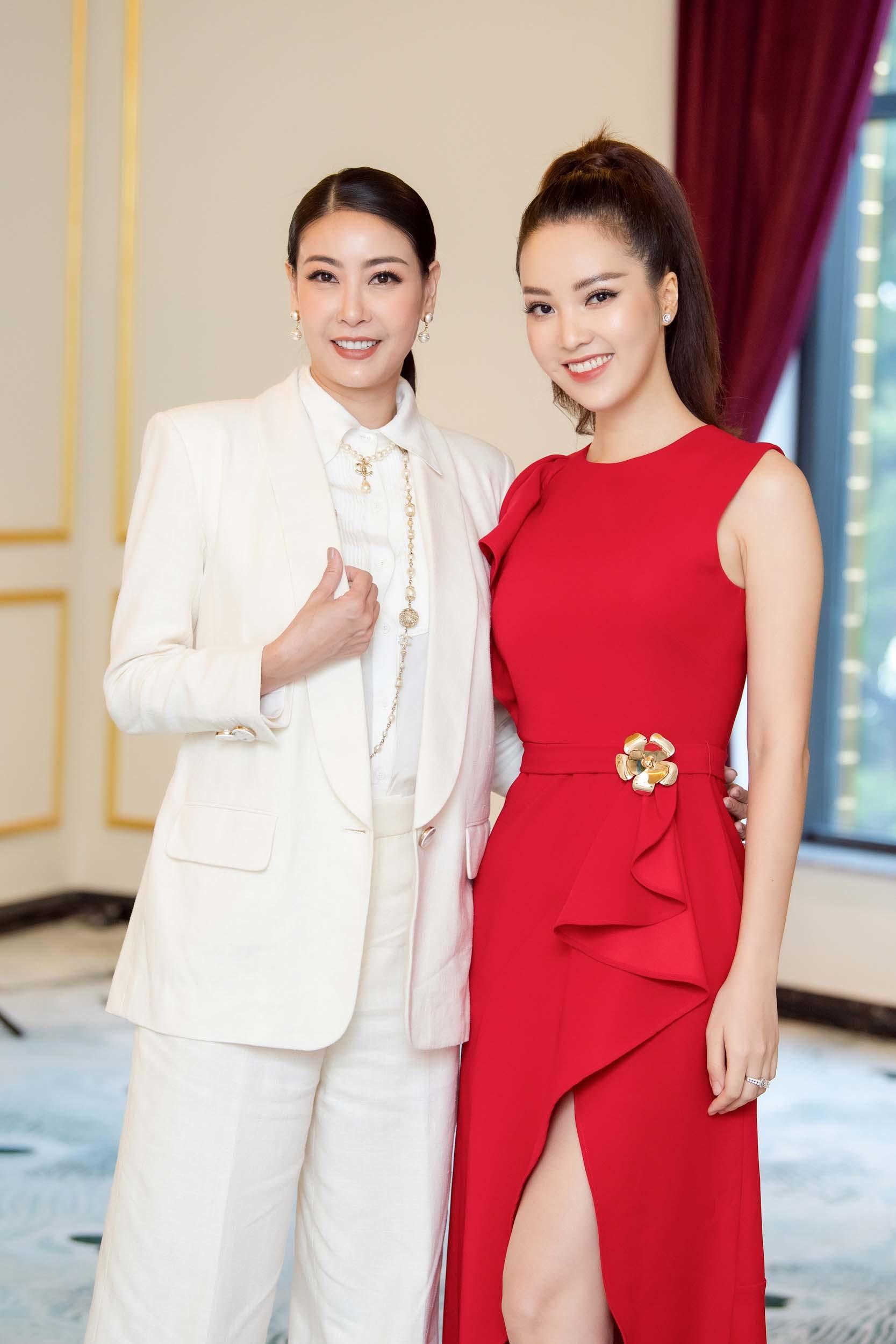 Hà Kiều Anh, Thụy Vân xinh đẹp làm giám khảo HHVN 2020
