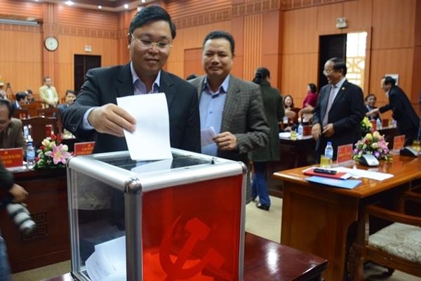 Bí thư, các Phó Bí thư Quảng Nam tiếp tục ứng cử Đại hội Đảng bộ khóa mới