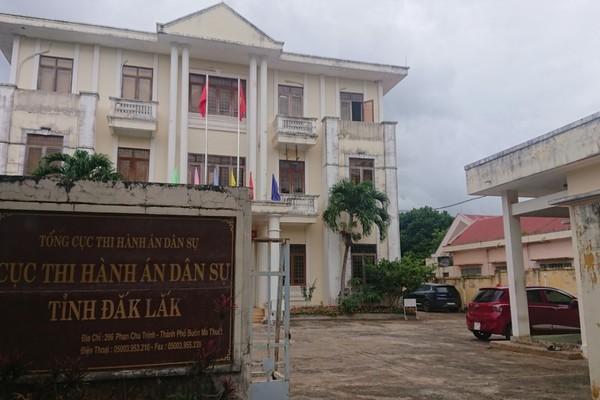 Cục trưởng Cục thi hành án dân sự tỉnh Đắk Lắk bị kỷ luật cảnh cáo