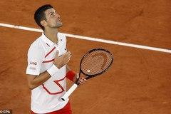 Djokovic dạo bước vào vòng 2 Roland Garros