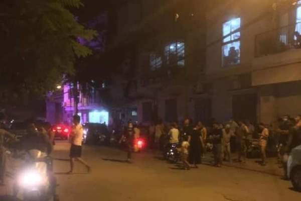 Chủ thầu xây dựng ở Hà Nội bị ròng rọc thang máy thắt vào cổ tử vong