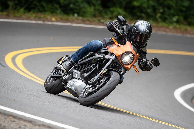 Chiêm ngưỡng mô tô điện độc đáo của Harley Davidson