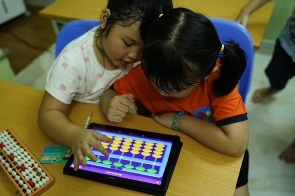 Kids Up Soroban - ứng dụng giúp trẻ học toán theo phương pháp Nhật