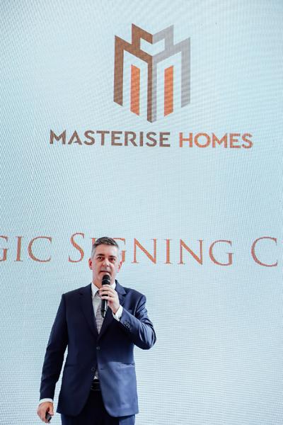 Masterise Homes bắt tay đối tác 'ngoại', nâng tầm chất lượng BĐS