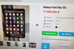 Galaxy Fold hàng xách tay giảm giá mạnh chỉ sau một năm ra mắt