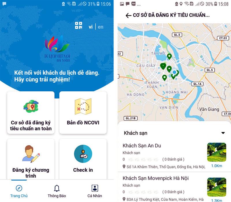 10 ngày nữa có app Du lịch Việt Nam an toàn cho mọi du khách