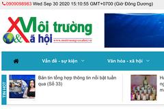 Thông tin sai về Bí thư Đắk Lắk, Tạp chí Môi trường và Xã hội bị tước giấy phép