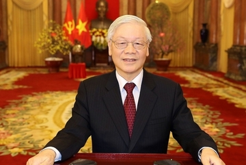 Tổng Bí thư, Chủ tịch nước gửi thư chúc mừng ngành Khí tượng Thuỷ văn