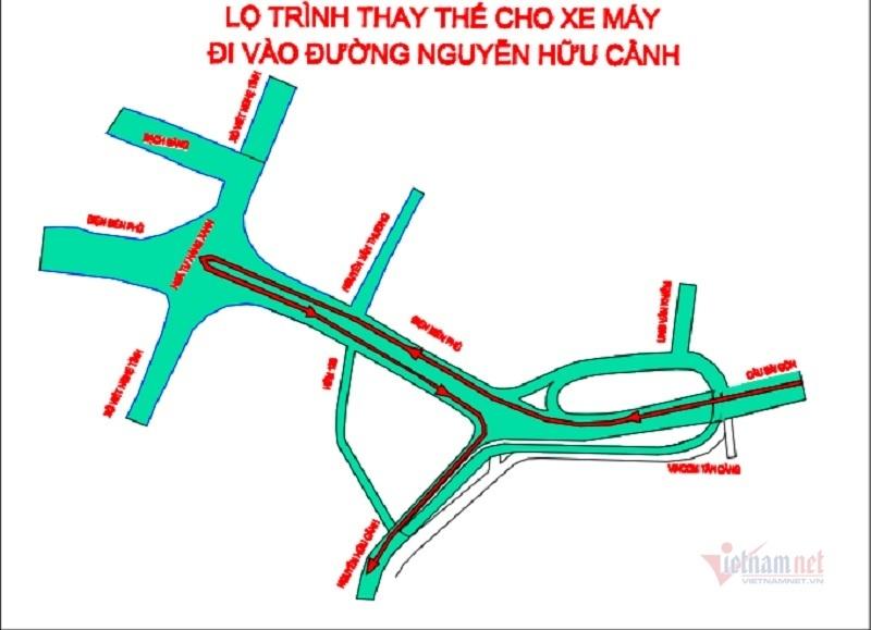 Điều chỉnh giao thông dưới chân cầu Sài Gòn, người dân cần chú ý