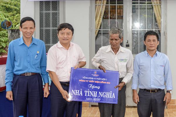EVNGENCO1 chung tay trao nhà tình nghĩa ở Lâm Đồng