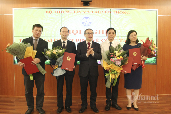 Bộ TT&TT triển khai các quyết định mới về công tác cán bộ