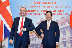 Vị chính khách châu Âu đầu tiên thăm Việt Nam kể từ khi Covid-19 bùng phát