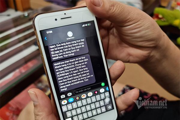 MobiFone tặng data, phút gọi cho thuê bao bị ảnh hưởng vì sự cố
