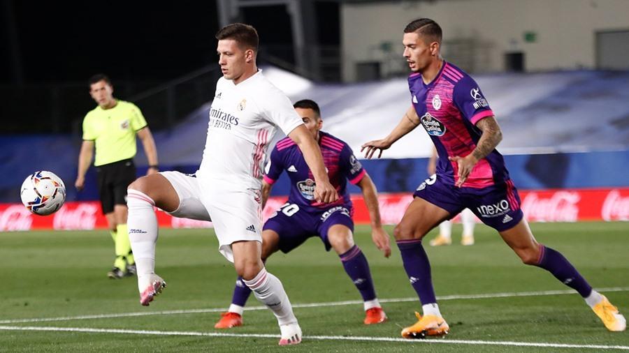 Real Madrid chật vật giành 3 điểm trước Valladolid