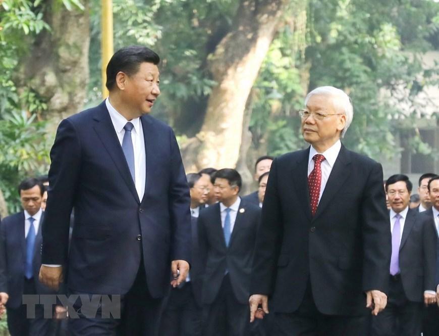 Lãnh đạo Đảng, Nhà nước chúc mừng 71 năm Quốc khánh Trung Quốc