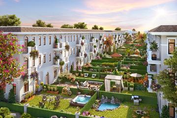 Đầu tư thông minh: xuống tiền nhà phố, sở hữu không gian biệt thự