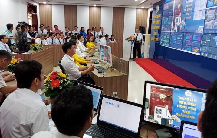 Quảng Nam khai trương trung tâm điều hành thông minh IOC