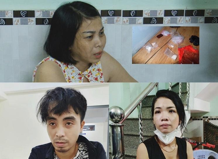 Mẹ ruột giao ma túy cho con trai và con dâu đi bán